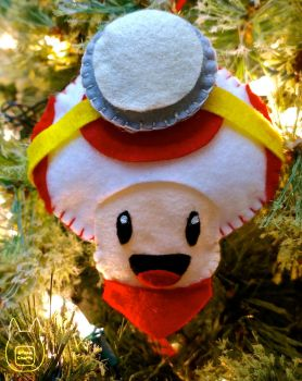 Captain Toad Ornament (Tutorial) by studioofmm