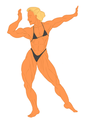 Muscle 80s Base Color by Luis3iguel