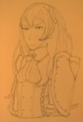 Testing out new pencils by drawing Severa by happydreamer96
