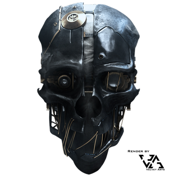 Dishonored Mask Stock/Render by JulianZett