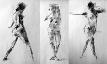 3x 3 minute gestures by turningshadow