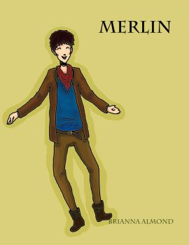 Merlin Fan art by raptureofthedance