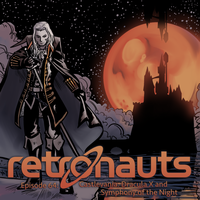 Retronauts Cover 5: Castlevania by P5ych