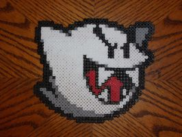 Perler Bead Boo by EP-380