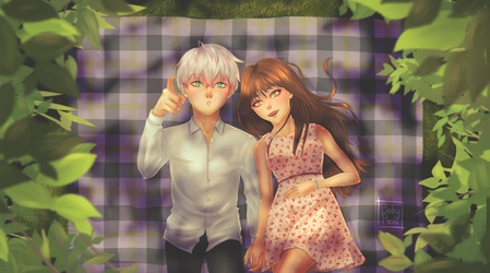 Saeran x MC - Watching clouds by BabyReni