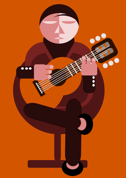 The Guitarist by r4ts