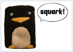 Maxwell the Penguin Cozy by restlesswillow