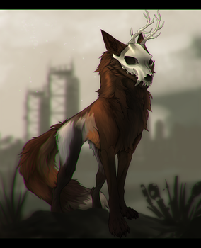 Wasteland|YCH by LuLaRose1372