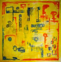 Abstract Ragged Symbols by MushroomBrain