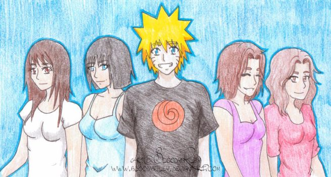 Xover - Naruto and The Charmed Ones by BloodyRiley