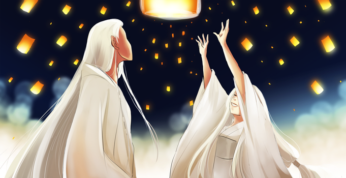 Festival of a thousand Flames by SuzakuTrip