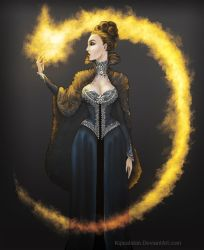 The Evil Queen by Kipestshin