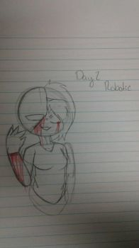 Goretober Day 2 Robotic by ArtisticKitty49