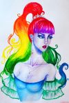 Fb20-Ms. Rainbow by LicamtaPictures