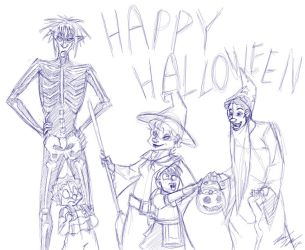 Happy Halloween 2011 by ZaraLT