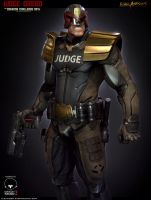 Judge Dredd Beauty shot by Stepanchikov