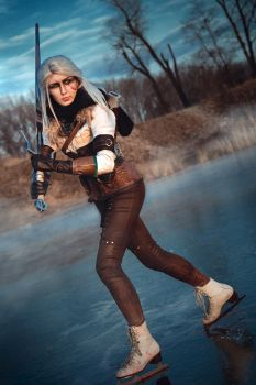 Ciri - the tower of the swallow - Juriet Cosplay by Juriet