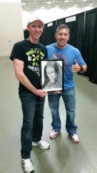 David Chandler and Ray Park Darth Maul / Snake Eye by DChan75