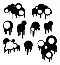Circles and Drips - Brushes by LukeAvery