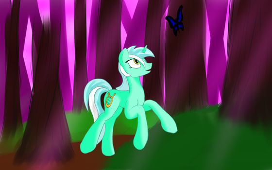 Walking through the forest by Prats1983