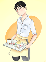 Waiter Kei~ by cornelia892