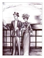 SGP - The edwardian era couple by Antervantei