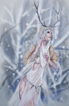 The Ghost of the Winter and the Wild by Dinoforce