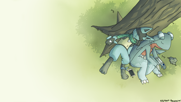 Under The Tree by PseudoLW