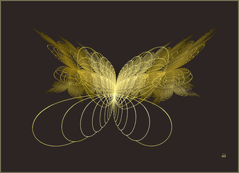 Golden Butterfly by baba49