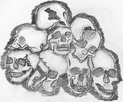 skulls by Caboose118