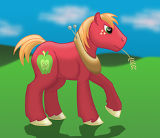 How I Draw Ponies Big Mac (Style Test) download by horse14t