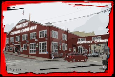 Monterey Canning Company Building by scream619