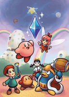 Kirby 64: The Crystal Restored by salvicorn