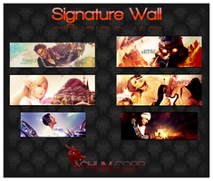 Signature Wall No.4 by Chum162