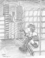 In an Unfeeling City Art Trade by Dreamwish