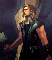 God of Thunder by akipunch