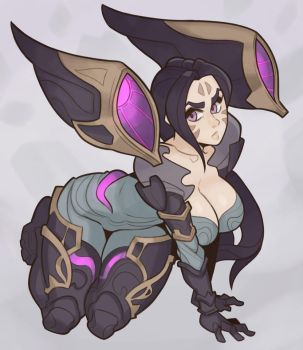 League of Legends, Kai'Sa by SplashBrush