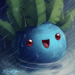 Oddish by TheQueenOfNeckbeards
