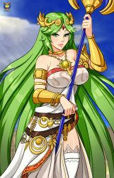 Palutena by Kyoffie12