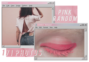 PINK RANDOM // PACK BY REALOVEPS by realoveps