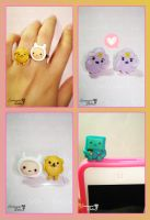 Adventure Time Kawaii Set by SentimentalDolliez