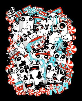 Pandamonium! by Clarita2099