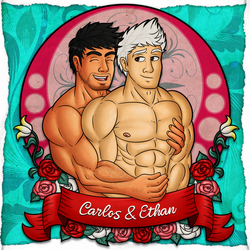 Carlos and Ethan by Wolfan-foxD