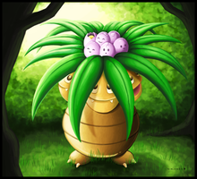 Exeggcute and Exeggutor