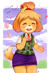 Hi Isabelle by meadow-rue