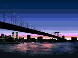 Brooklyn bridge (NY) by HRandt