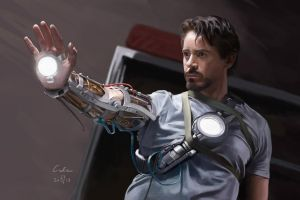 Contemplating Tony by Charle-magne