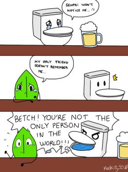 Pretty sure that's how Toilet would react... by Redkitty34