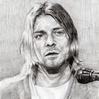Kurt Cobain by BonaScottina