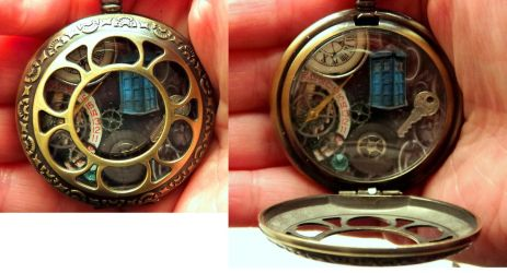 Time Lord Fob Watch by GermanCompanion